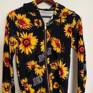 Joyrich floral hoodie size xs
